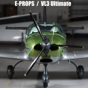 VL3 ULTIMATE ROTAX 912S eprops durandal 3blade